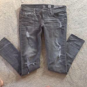 All Saints Woodvale Pipe skinny spitalfields jeans